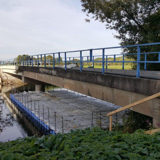 Montageponton für Brückensanierung