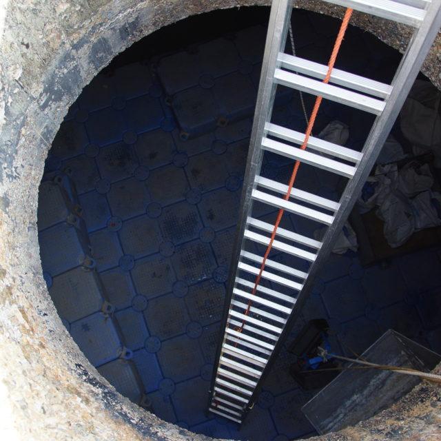 Zugang Faulturm