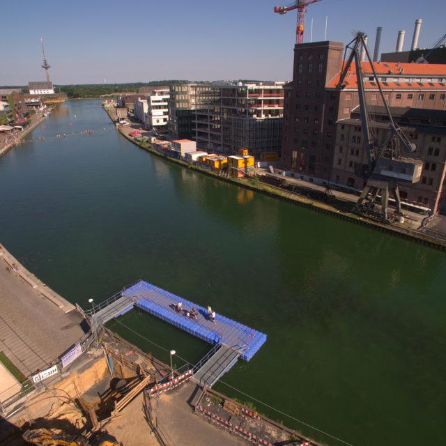 Pontonbrücke Münster