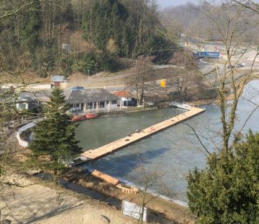 Die Europonton GmbH realisiert einen Schwimmsteg für die Landesgartenschau 2018 in Bad Iburg