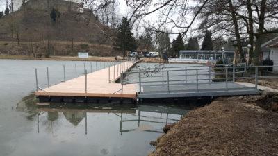 Schwimmsteg Zugangsbrücken LAGA 2018